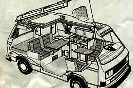 01987 Volkswagen Westfalia  Portland, OR