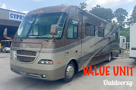 """A-03  Class A Motorhome 37' """"The George""""  Cypress, TX"""