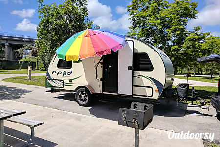 MAT, the 2014 Forest River R-Pod 178 Hood River Edition  Hollywood, Florida