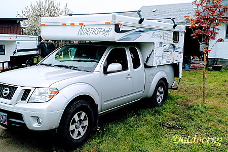 "0Truck Camper ""Glacier"" Fully Outfitted+Solar!  Sheridan, OR"