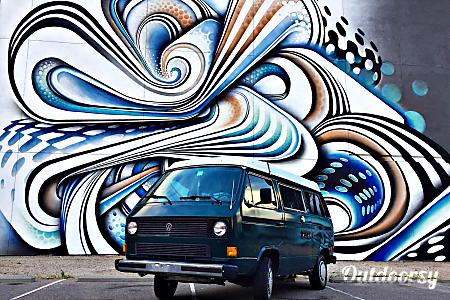 """The Green Vanalishi"" - 1984 Volkswagen Westfalia  Denver, Colorado"
