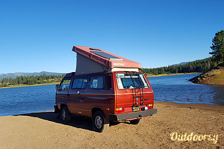MONTANA 1989 Volkswagen Westfalia  Tahoe City, California
