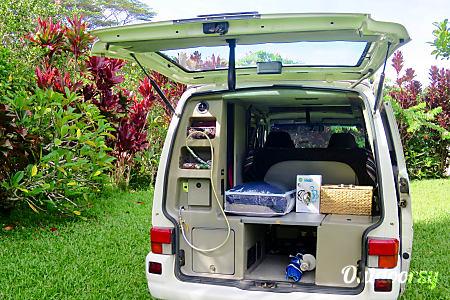 Volkswagon EuroVan CamperVan 'Hale Lani'  Kilauea, Hawaii