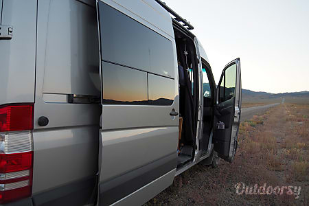 2015 Mercedes-Benz Sprinter-The Silver Surfer Eco-Van for Eclipse  Medford, Oregon