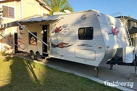 **26'  Keystone NRG Travel Trailer Toy Hauler**(sleeps 10)  Simi Valley, California