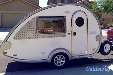 0White FOX - 2015 T@B Teardrop Trailer  Roseville, CA