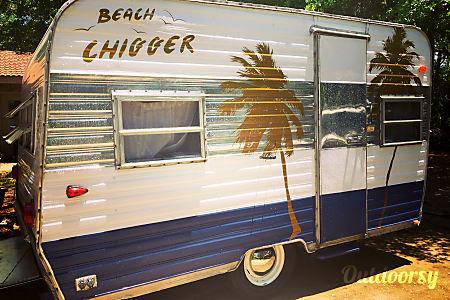 "Vintage 1966 Mobile Scout - ""Beach Chigger""  Destin, Florida"