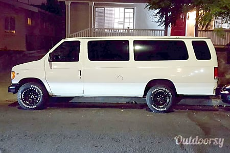 02001 Ford E350 Adventure Van with Offroad Tires  Los Angeles, CA
