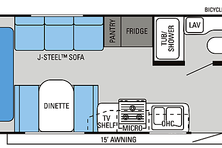 02013 Jayco Jay Feather Ultra Lite X213  Conroe, TX