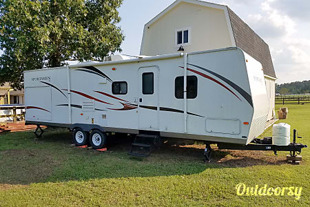 02013 K-Z Sportsmen Bunkhouse Ultralite, Near Lake Conroe/Livingston and Huntsville SP!  Montgomery, Texas