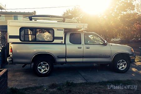 Rocinante: 4x4 Toyota Tundra + Four Wheel Camper Eagle  Portland, Oregon
