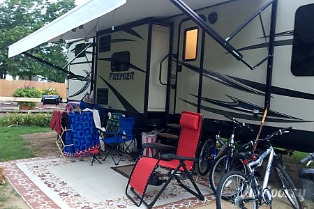 Bunkhouse Bullet  - Ready for Tailgating!  Williamsport, Pennsylvania