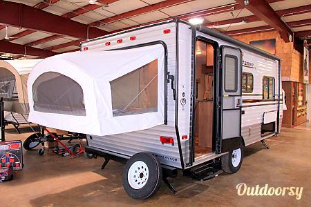 02016 K-Z Manufacturing Sportsman Classic 18RBT  Boone, Iowa