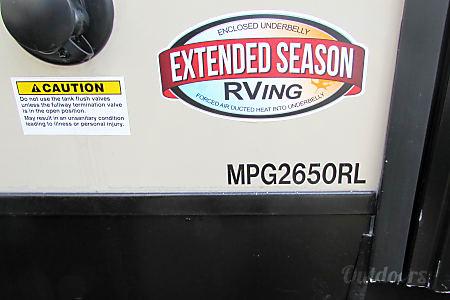 2017 Crossroads Cruiser MPG 2650RL  Jacksonville, Fl
