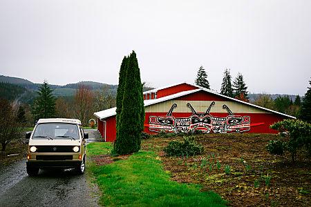 Peace Vans #18: Duckabush 1985  Full Camper  Seattle, WA