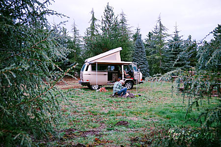 Peace Vans #18: Duckabush 1985  Full Camper  Seattle, WA