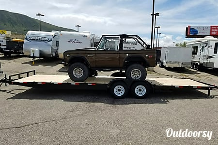 02016 Flatbed 26ft Trailer  Draper, UT