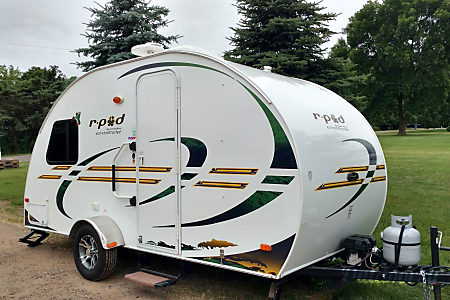 0Rpod 172. Small camper with big features!  Hillsdale, WI