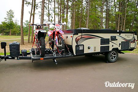 The Ultimate Back Country Glamper w/ Toy Hauler (Tailgating Package Available)  Monument, Colorado