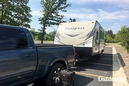 2017 Keystone Passport grand touring bunkhouse 2920  Waterford Township, Michigan