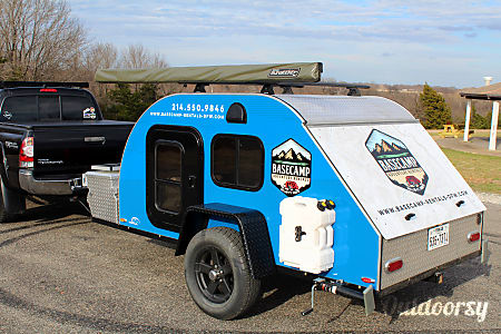 Blue 5x9 GCP Teardrop Trailer  Corinth, TX