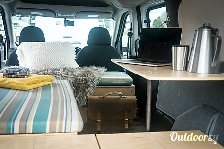 02017 Dodge Ram Promaster City 2 passenger campervan - 12  San Francisco, California