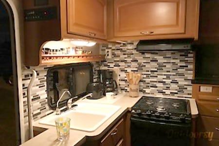 $185/night for 1 week rental. On the road again ...  La Mirada, California