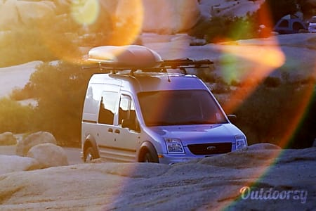 02013 ford transit adventure van  San Diego, California