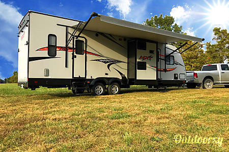 02016 KZ MXT319 Toy Hauler  Thompsonville, IL