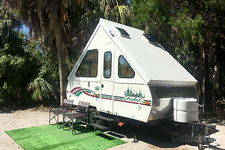 0Gypsy 'Chalet' - FREE DELIVERY to Fort DeSoto Campground  Gulfport, FL
