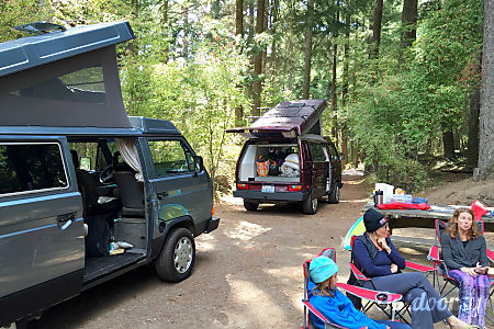 Peace Vans #3: Nisqually - 1987 Volkswagen Vanagon Full Camper (Manual Transmission!)  Seattle, WA