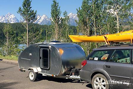 02017 homebuilt Aluminum TearDrop Camper  Boulder, CO