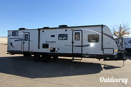 Prowler Ready for Prowling - 2017 Prowler Travel RV Trailer - Pet Friendly - Delivery available to certain areas  Escondido, California