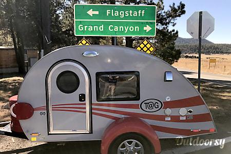 0Tucson AZ Toy Camper, Little Red Wagon  Tucson, Arizona