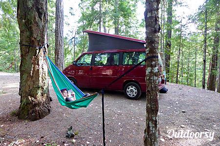 0Peace Vans Rentals #7: Dosewalips - 1999 Eurovan Weekender Edition  Seattle, WA