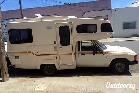 0The Egg: an RV so small it fits in a parking spot  San Francisco, CA