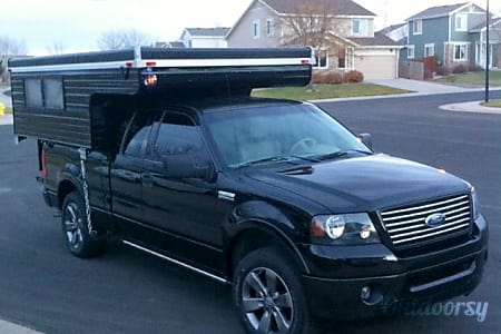 0Custom Ford F150 with 8' Sunlite Pop Up Camper * optional 1 or 3 dirtbike trailor*  Denver, CO