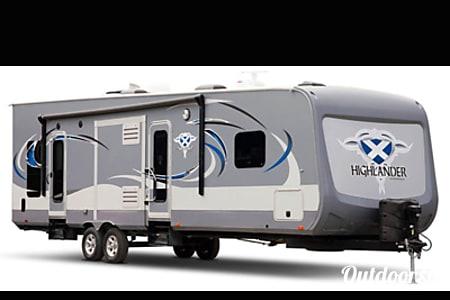 02016 Open Range highlander M-31RGR toy hauler 37'  Spring Hill, FL