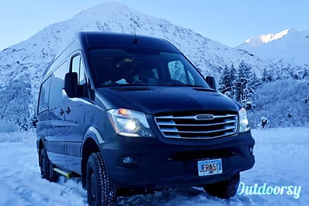 02018 Sprinter 4x4 - Light Gray  Anchorage, AK