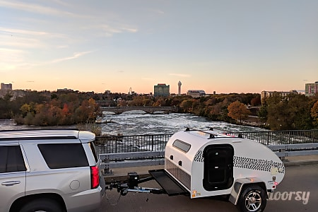 0Tow Anywhere, Tow with Anything light and off -road capable teardrop camper with rear kitchen galley  Nashville, Tennessee