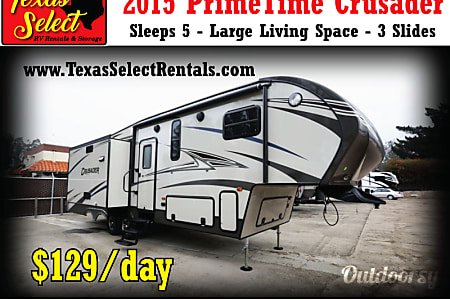 02015 Prime Time Crusader 5th Wheel  Round Rock, TX