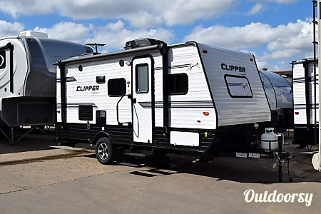 "02018 Coachmen Clipper (17') - nicknamed ""Austin""  Houston, Texas"