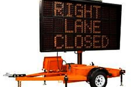 0Ver-Mac Solar Road Sign  Enderby, BC