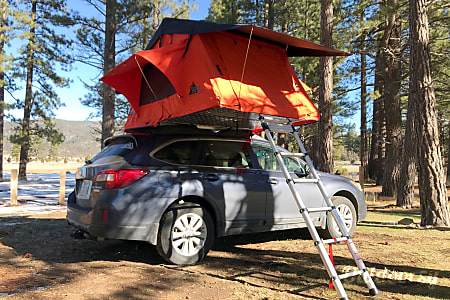 0Rooftop Tent on Subaru Outback  Reno, Nevada
