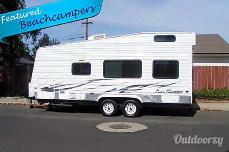 0Fun-Fun with your ATV or Motorcycle in 22 Ft - Sleep 6 Toy Hauler Fun Runner  Lompoc, CA