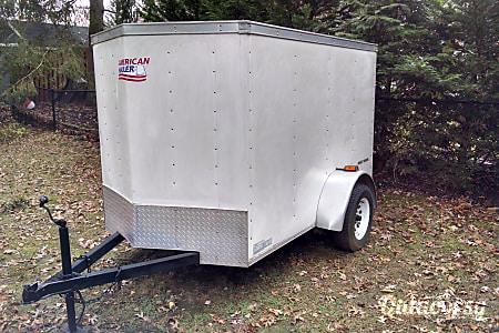 02005 American Hauler Enclosed Trailer V-Nose 5x8  Roxbury Township, NJ