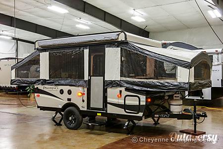 02016 Palomino 10ST tent trailer  Ventura, CA