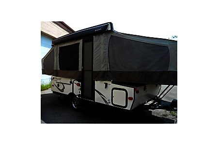 02017 Flagstaff Model:206ST Mac Series Camping Trailer  Ventura, CA