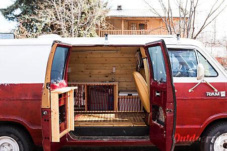 01985 Dodge B250 Custom Camper Van  San Francisco, CA