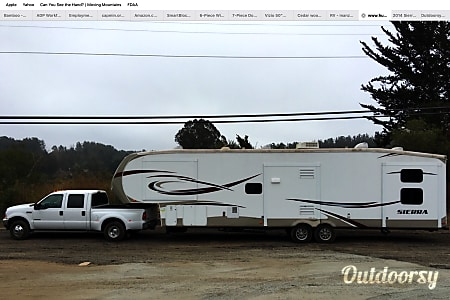 02014 Forest River Sierra 376BHOK 5TH WHEEL  Monterey, CA